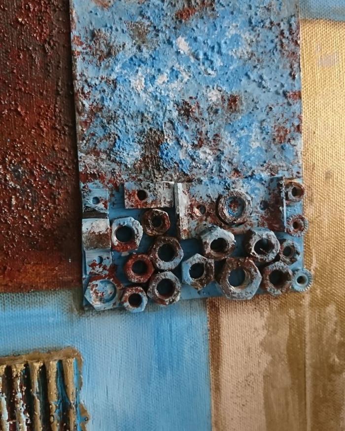 ABK-00006 Abstrakte Kunst Hamburg Rusty Harmony (5)