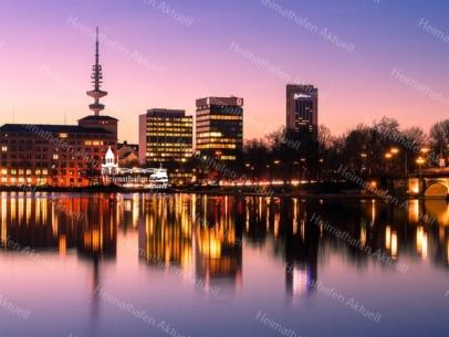 ALS-00005 - Die Alster - Hamburg Skyline an der Binnenalster
