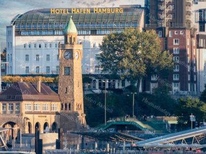 HAF-00004 Hamburger Hafen - Hotel Hafen Hamburg und Pegelturm