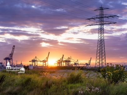 Hamburg Foto - HAF-00008 Hafenatmosphäre im Spätsommer