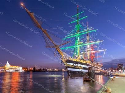 HAF-00009 - Hamburger Hafen - Segelschulschiff AMERIGO VESPUCCI