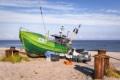 MAR-00003 - Maritimes - Fischerboot am Ostseestrand