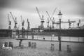 SUW-00008 - Schwarz Weiss - Hamburger Hafen, Fischmarkt