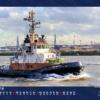 Foto-Wandkalender Hamburg 2019 - Schlepper Monat Februar 2019