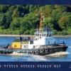 Foto-Wandkalender Hamburg 2019 - Schlepper aus dem Hamburger Hafen Monat Juli 2019