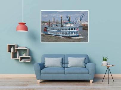 Hamburg Foto - HAF-00018 LOUISIANA STAR auf Hafenrundfahrt Wandbild