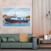 MAR-00007 - Maritimes - Fischerboot in Kolberg, Polnische Ostsee Wandbild 2