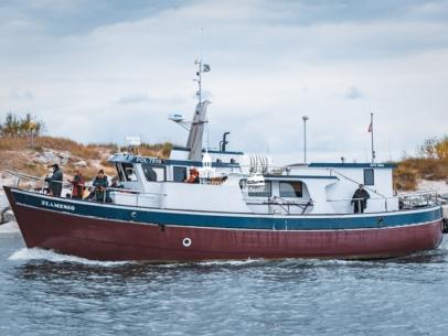MAR-00007 - Maritimes - Fischerboot in Kolberg, Polnische Ostsee