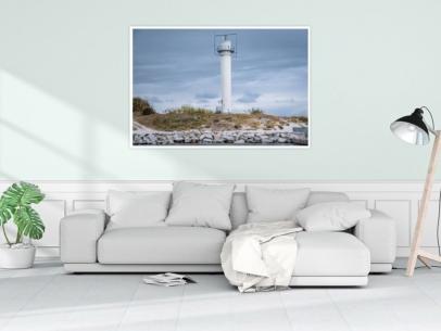 MAR-00008 - Maritimes - Radarturm in Kolberg, Polnische Ostsee Wandbild 1