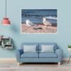 MAR-00011 - Maritimes - Möwen an der Ostsee Wandbild 1