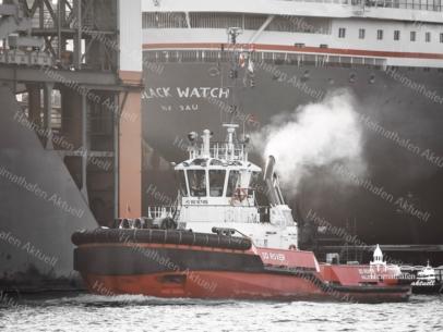 SHL-00017 - Schlepper - KOTUG SD ROVER vor Werft Blohm + Voss