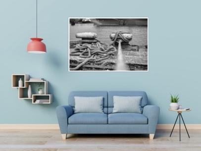 Hamburg Fotos - SUW-00014 Tampen Hamburger Hafen Wandbild