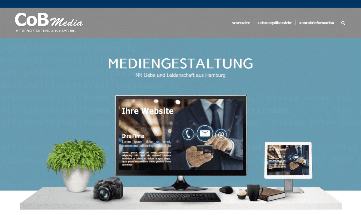 CoB Media, Mediengestaltung aus Hamburg