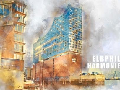 ARW-00132-Hamburg Elbphilharmonie abstrakt