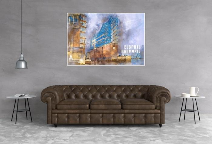 Abstraktes Hamburg ARW-00132-Hamburg Elbphilharmonie