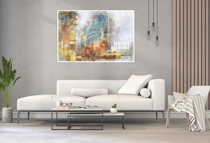 ARW-00132-Hamburg Elbphilharmonie abstrakt Gestaltungsansicht
