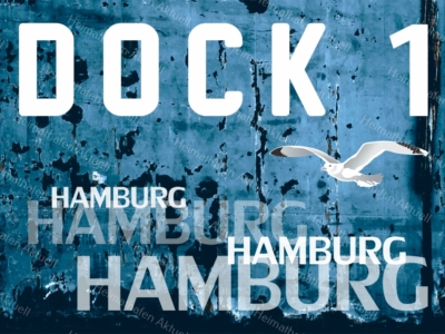 Hamburg Abstrakt - ARW-00023 DOCK 1 Hafen-Collage