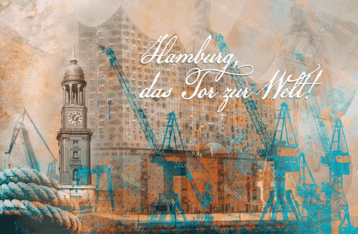 ARW-135 Hamburg - Das Tor zur Welt