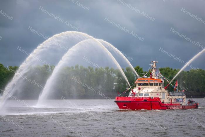 Hamburg Foto - HAF-00021 BRANDDIREKTOR WESTPHAL beim Hafengeburtstag 2019