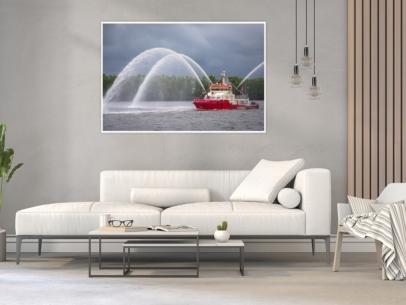 Hamburg Foto - HAF-00021 BRANDDIREKTOR WESTPHAL beim Hafengeburtstag 2019 Gestaltungsansicht