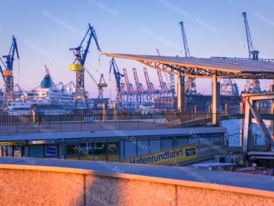 Hamburg Foto - HAF-00030 Hamburger Landungsbrücken