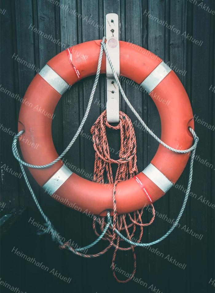 Hamburg Fotos - MAR-00015-Rettungsring