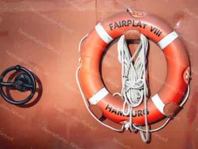 Hamburg Fotos - MAR-00017-Rettungsring-FAIRPLAY VIII