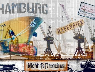 ARW-00136 Hamburger Hafen abstrakt