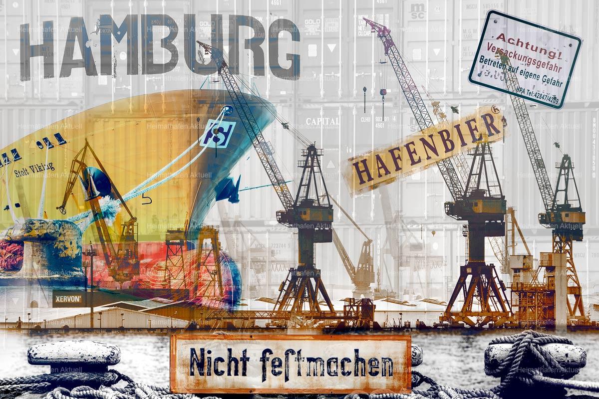Hamburg abstrakt - ARW-00136-Hamburger-Hafen-abstrakt