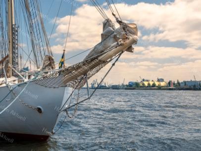 Hamburg Foto - HAF-00074 Hamburger Hafengeburtstag - Großsegler an den Landungsbrücken