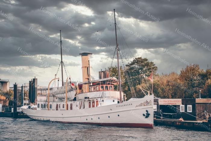 Hamburg Foto - HAF-00076 Staatsdampfer SCHAARHÖRN