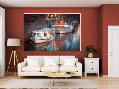 Hamburg Bilder und Fotos - ALS-00024-Alsterdampfer-KOLLAU-Gestaltungsansicht