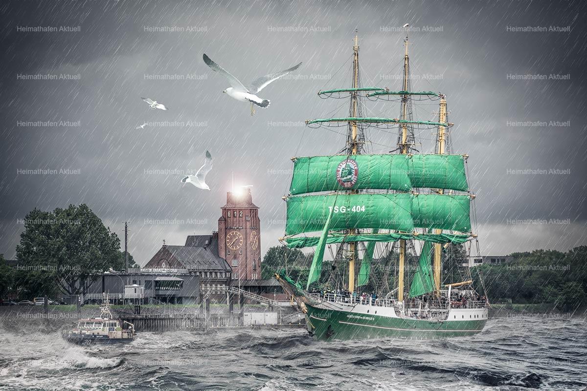 Hamburg Abstrakt - ARW-00138--Alexander-von-Humboldt-II