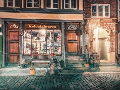 Hamburg Fotos und Bilder HAL-00011-Kolonialwaren-Deichstrasse