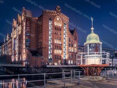 Hamburg Fotos und Bilder HAL-00015-Leuchtfeuer-HafenCity