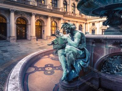 Hamburg Fotos HAL-00020-Hygieia-Brunnen-Rathaus