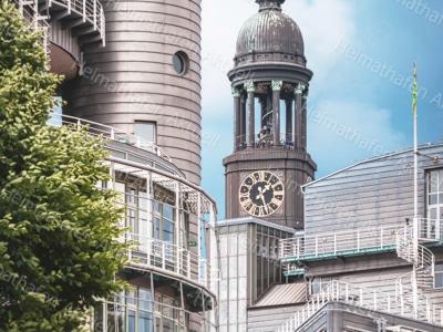Hamburg Fotos u. Bilder - HAL-00029-Michel-Stadtansicht