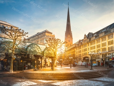 Hamburgbilder - HAL-00030-Petrikirche-Hamburg