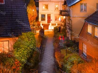 Hamburg Fotos u. Bilder - HAL-00044-Blankenese-Treppenviertel