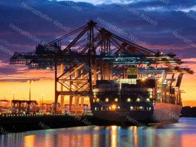 Hamburg Foto - HAF-00095 Containerhafen Waltershof-Eurogate