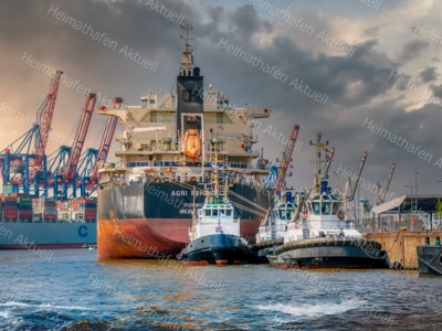 Hamburg Foto - HAF-00096 Hamburger Hafen