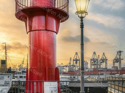 Hamburg Fotos - HAF-00098 Leuchturm Pagensand Museumshafen Oevelgönne