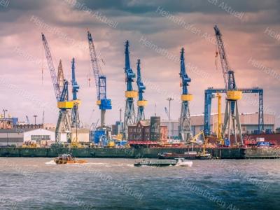 Hamburg Fotos u. Bilder - HAF-00110-Blohm+Voss
