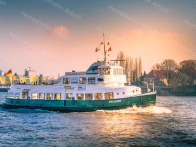 Hamburg Fotos u. Bilder - HAF-00113-MSKirchdorf-Landungsbrücken