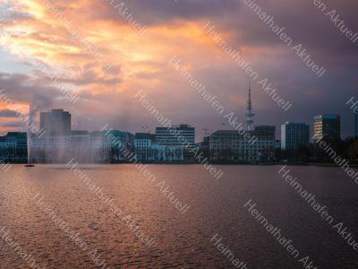 ALS-00011-Sonnenuntergang an der Binnenalster