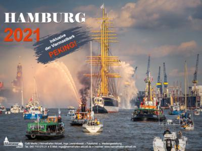 Hamburg 2021 -Foto-Wandkalender
