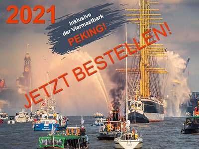 HAMBURG 2021 Foto-Wandkalender. Hamburg Bilder in A3