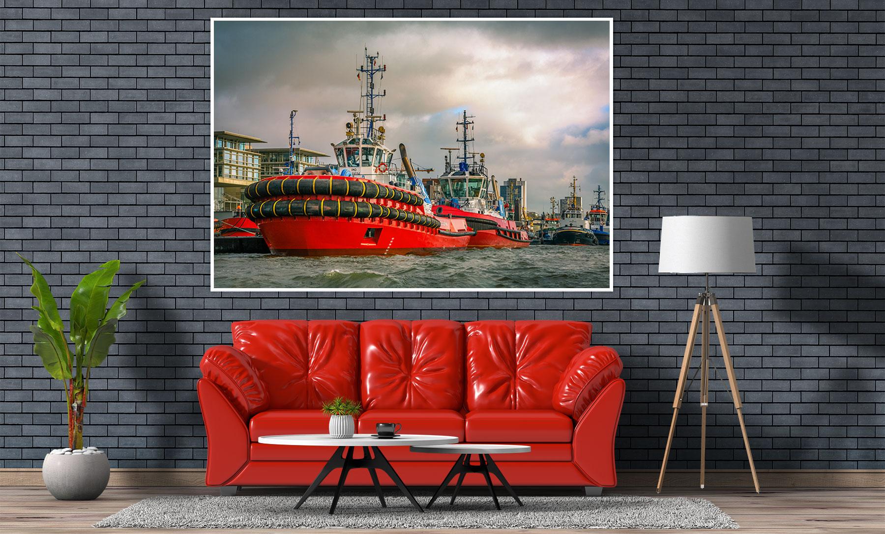 Heimathafen Aktuell Onlinestore, Hamburgbilder: Kategorie Schlepper, Hafenschlepper, Tugboats