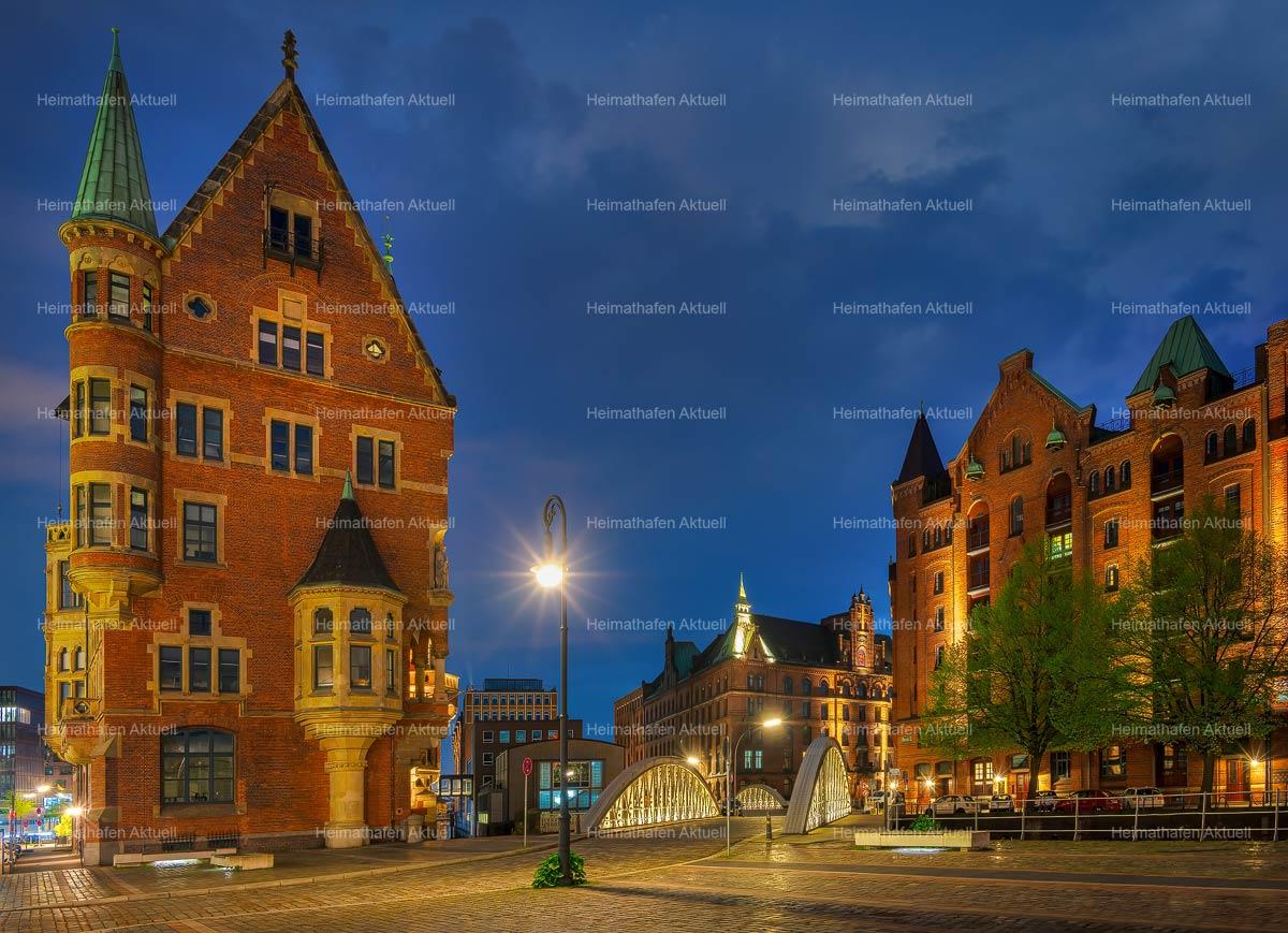 Hamburg-Fotos-HAL-00060-HafenCity-Speicherstadt-am-Abend