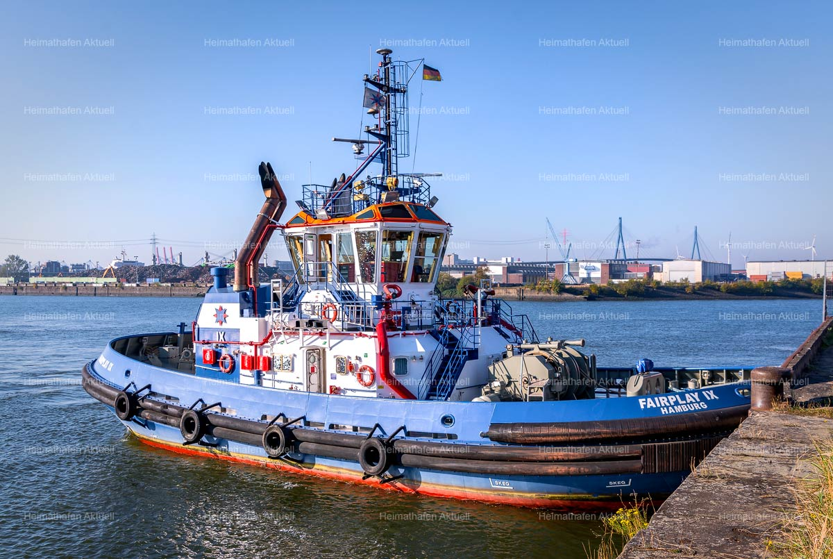 Hamburg Hafenfotos-SHL-00009--Schlepper-FAIRPLAY-IX